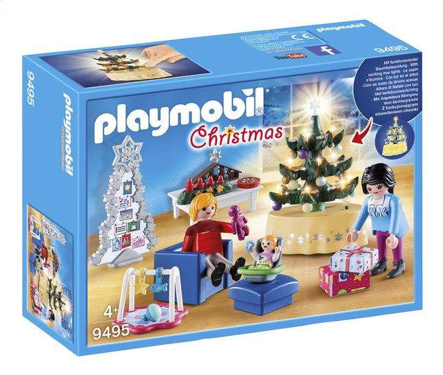 Image pour PLAYMOBIL Christmas 9495 Famille et salon de Noël à partir de DreamLand