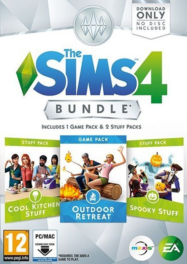 Afbeelding van Pc The Sims 4 Bundle NL from DreamLand
