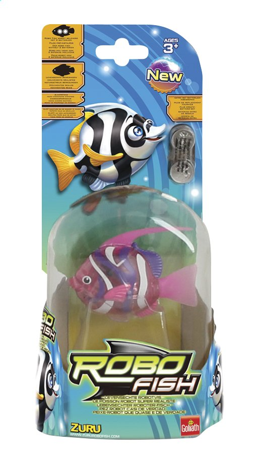 Afbeelding van Goliath Interactieve figuur Robo Fish Deep Sea Wimple Pink from DreamLand