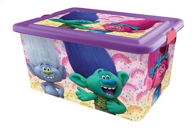 Image pour Boîte de rangement Trolls mauve 23 l à partir de DreamLand