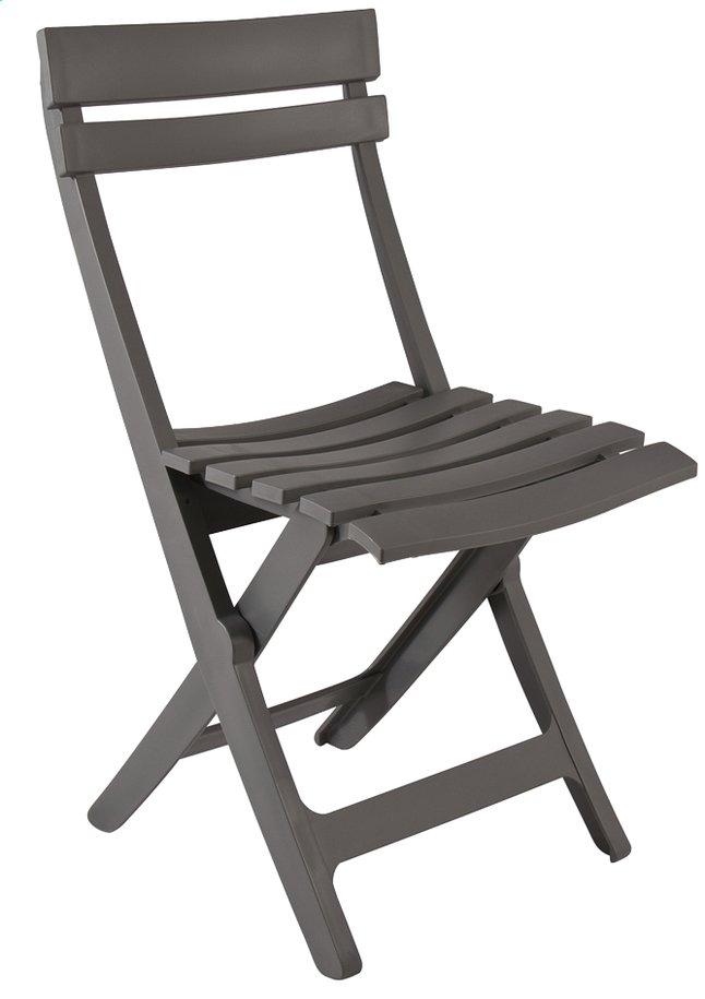 grosfillex chaise pliante miami anthracite dreamland. Black Bedroom Furniture Sets. Home Design Ideas