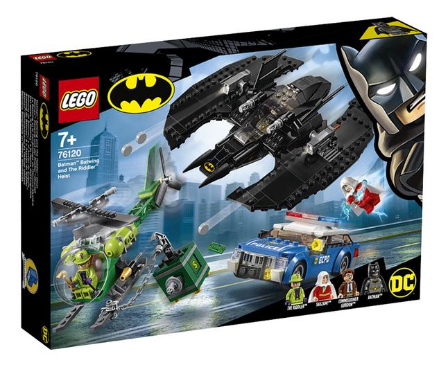 Afbeelding van LEGO Super Heroes 76120 Batman Batwing en de overval van The Riddler from DreamLand