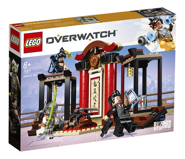 Afbeelding van LEGO Overwatch 75971 Hanzo vs. Genji from DreamLand