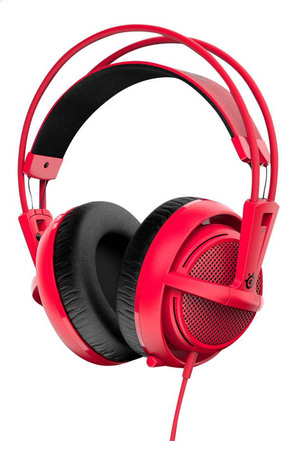 Afbeelding van SteelSeries headset Siberia 200 Forged Red from DreamLand