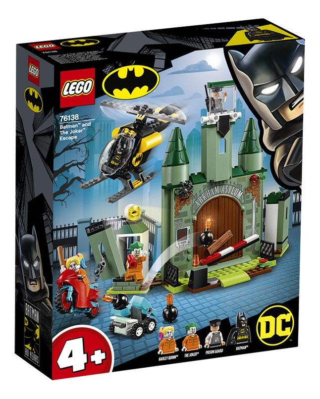 LEGO Super Heroes 76138 Batman en de ontsnapping van The Joker