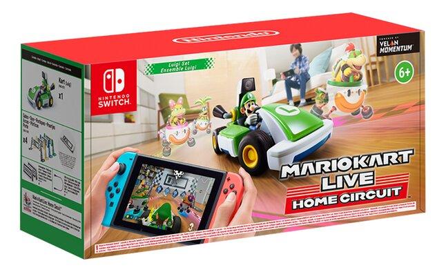 Nintendo Switch Mario Kart Live Home Circuit Luigi Set ENG/FR