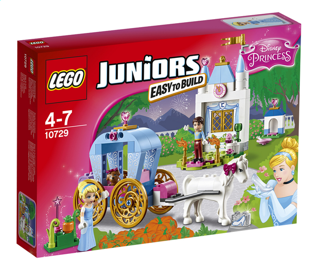 Afbeelding van LEGO Juniors 10729 Assepoesters koets from DreamLand