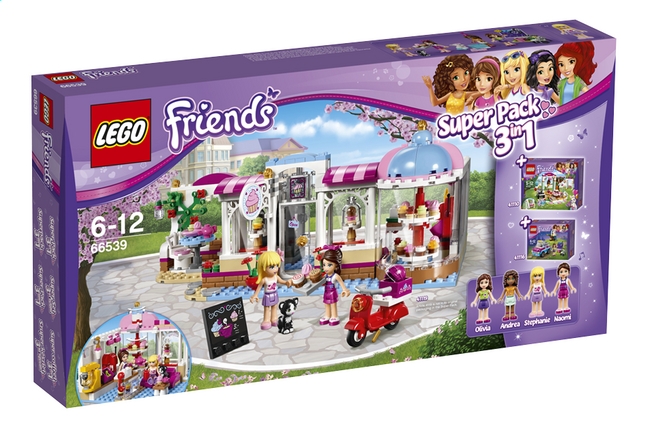 Afbeelding van LEGO Friends 66539 Super Pack 3-in-1 from DreamLand