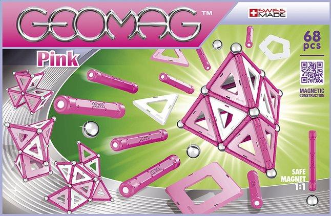 Afbeelding van Geomag Pink 68 stuks from DreamLand