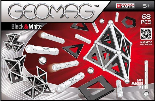 Afbeelding van Geomag Black & White 68 stuks from DreamLand