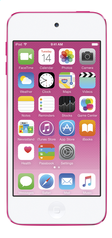 Afbeelding van Apple iPod touch 16 GB roze from DreamLand