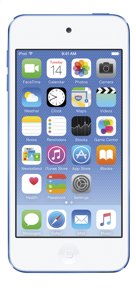Afbeelding van Apple iPod touch 16 GB blauw from DreamLand