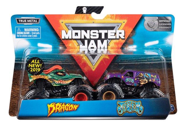 Spin Master Monster Truck Monster Jam Dragon & Jester