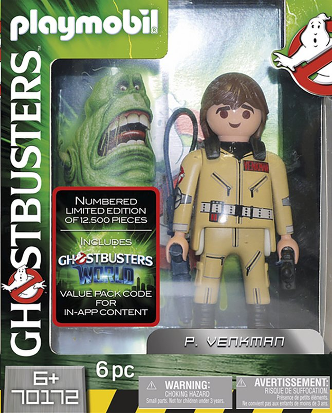 Afbeelding van PLAYMOBIL Ghostbusters 70172 Ghostbusters Collector's Edition P. Venkman from DreamLand