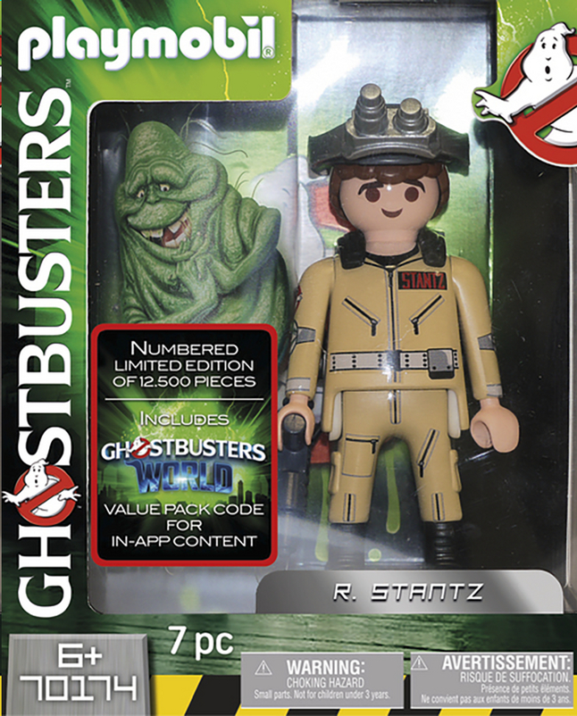 Afbeelding van PLAYMOBIL Ghostbusters 70174 Ghostbusters Collector's Edition R. Stantz from DreamLand