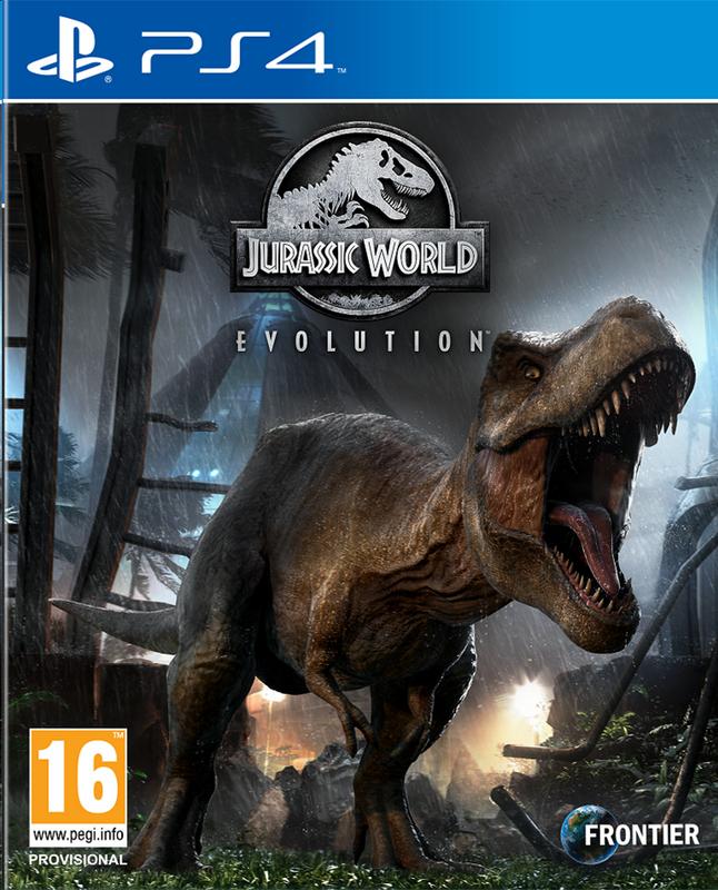 PS4 Jurassic World Evolution ENG/FR