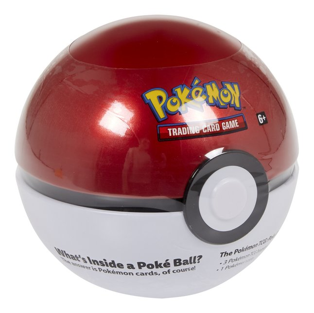 Pokémon Trading Cards Poké Ball Tin - Original Ball ANG
