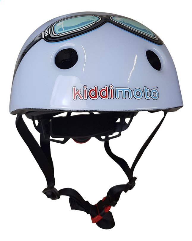 Afbeelding van kiddi moto Kinderfietshelm blue Goggle 44 - 48 cm from DreamLand