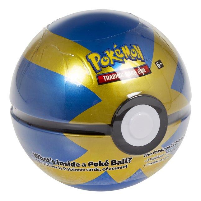 Pokémon Trading Cards Poké Ball Tin - Quick Ball ANG