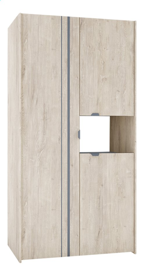 Afbeelding van Kleerkast met 3 deuren Levi from DreamLand