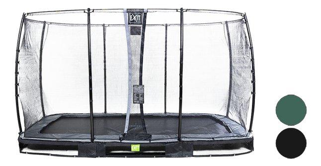 Image pour EXIT trampoline enterré avec filet de sécurité Elegant Ground Economy L 3,66 x Lg 2,14 m à partir de DreamLand