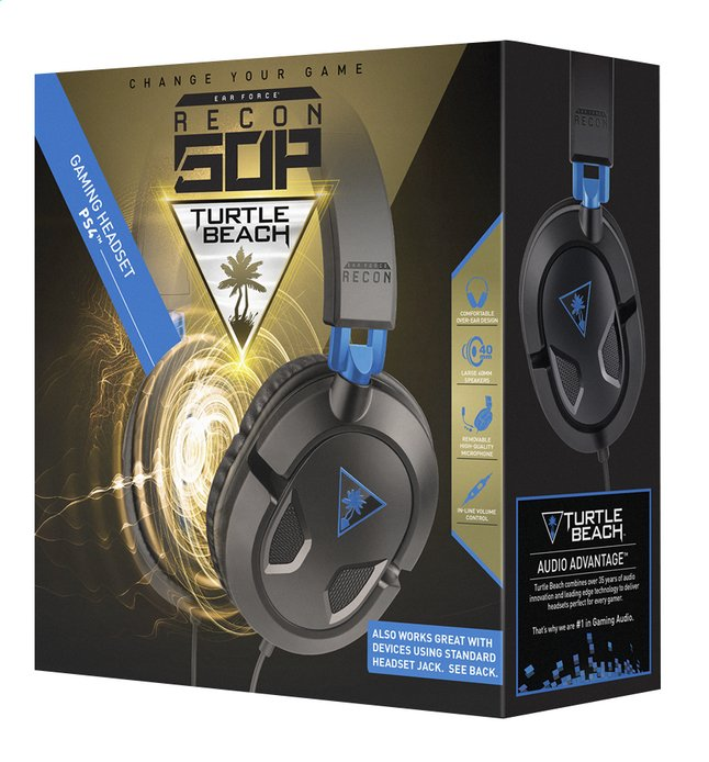 Image pour Turtle Beach casque-micro Ear Force Recon 50P noir à partir de DreamLand