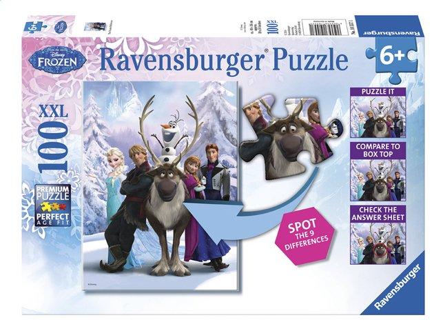 Image pour Ravensburger puzzle Disney La Reine des Neiges Trouve les différences à partir de DreamLand