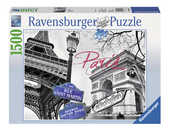 Image pour Ravensburger puzzle Paris mon amour à partir de DreamLand