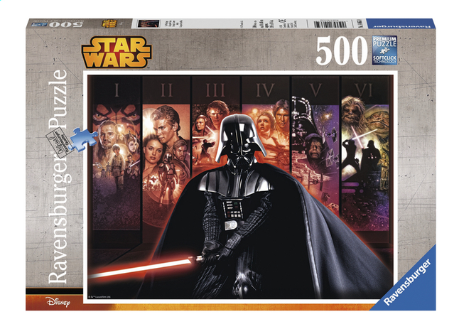 Afbeelding van Ravensburger puzzel Disney Star Wars Saga from DreamLand