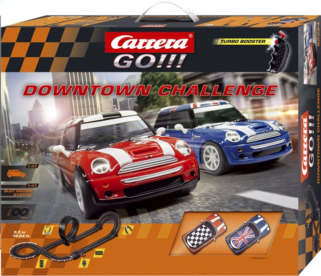 Afbeelding van Carrera Go!!! racebaan Downtown Challenge from DreamLand