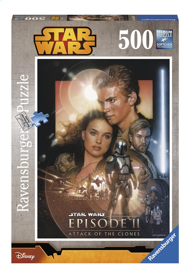 Afbeelding van Ravensburger puzzel Disney Star Wars Attack of the clones from DreamLand