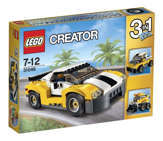 Image pour LEGO Creator 31046 La voiture rapide à partir de DreamLand