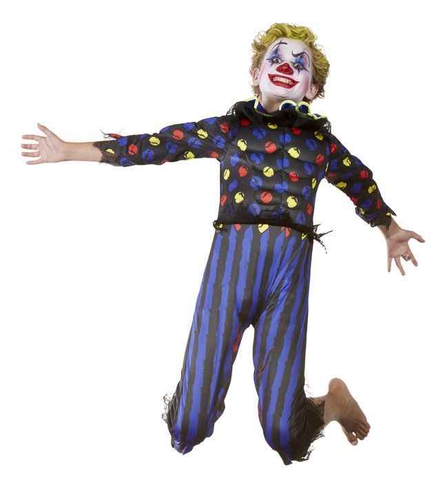 Image pour Déguisement de clown diabolique taille 128 à partir de DreamLand