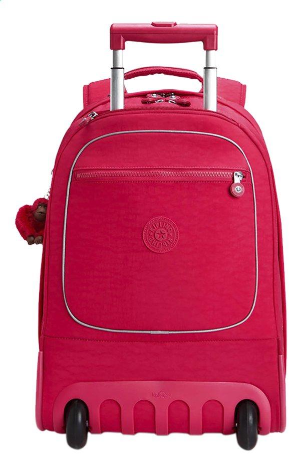 site réputé 9f950 3dd30 Kipling sac à dos à roulettes Clas Soobin L True Pink