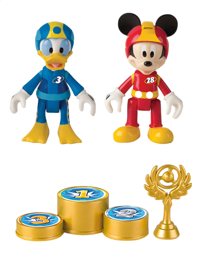 Figurine And The Mickey Articulée Racersamp; Disney Roadster Donald yvmw8OPnN0