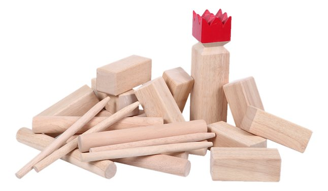 Viking Kubb Premium Rubberwood