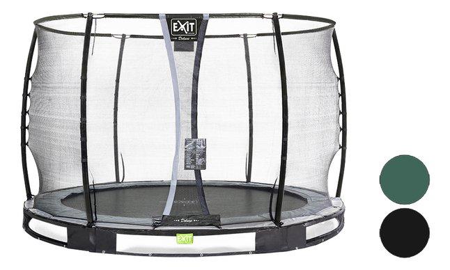 Image pour EXIT trampoline enterré avec filet de sécurité Elegant Ground Premium Deluxe Ø 3,05 m à partir de DreamLand