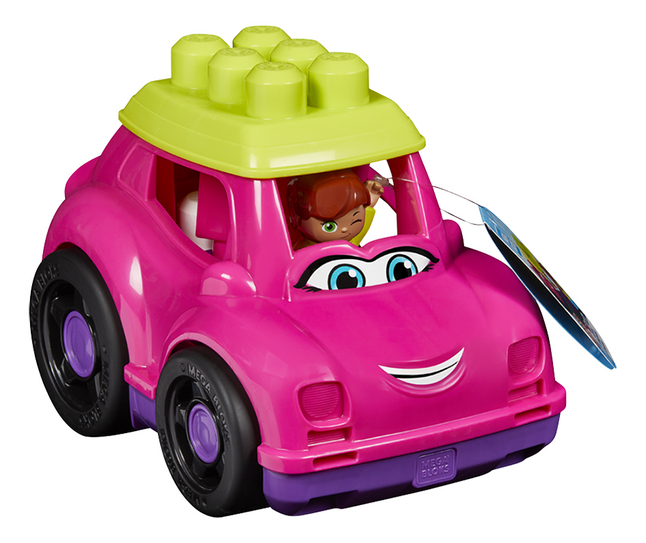 Afbeelding van Mega Bloks First Builders Lil' Vehicles Catie Convertible from DreamLand