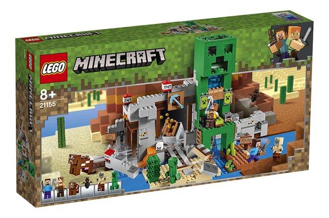 LEGO Minecraft 21155 La mine du Creeper