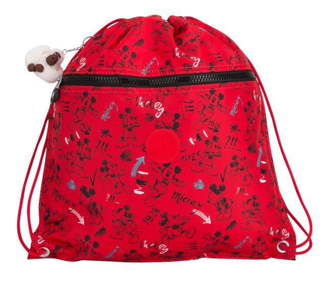 Kipling sac de gymnastique Supertaboo Mickey Sketch Red
