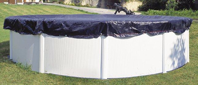 Afbeelding van Gré ovaal winterafdekzeil 6,80 x 4,60 m from DreamLand