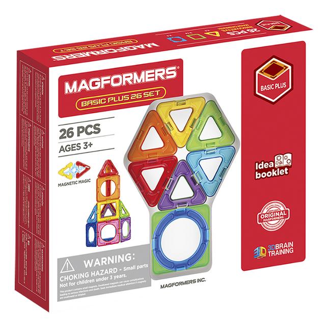 Magformers Basic Plus Set 26 pièces