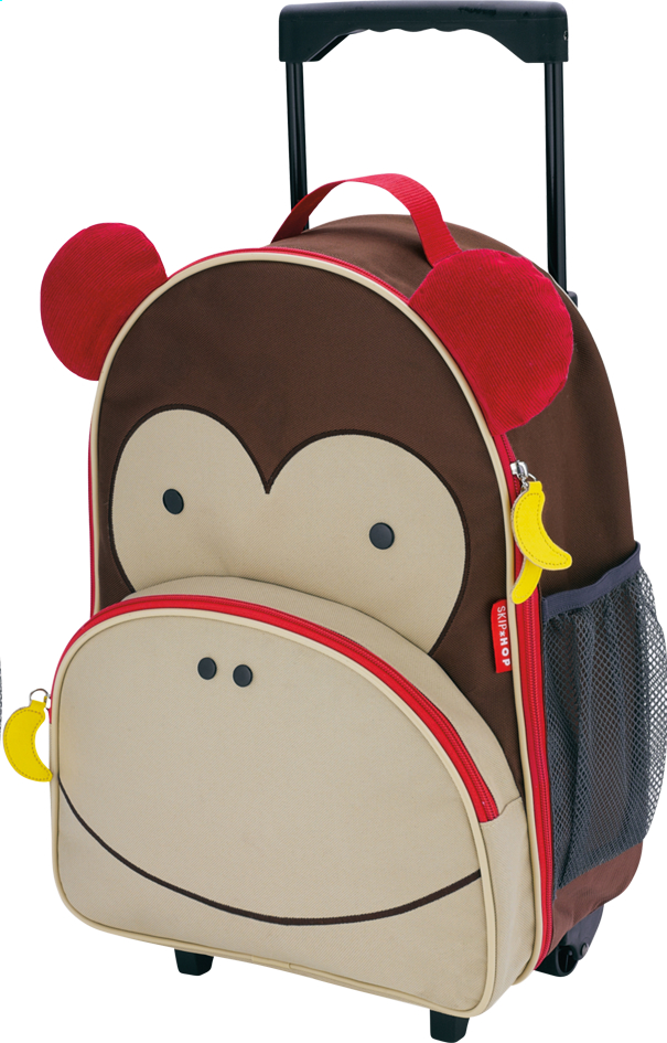 Afbeelding van Skip*Hop trolley Zoo Luggage aap from DreamLand