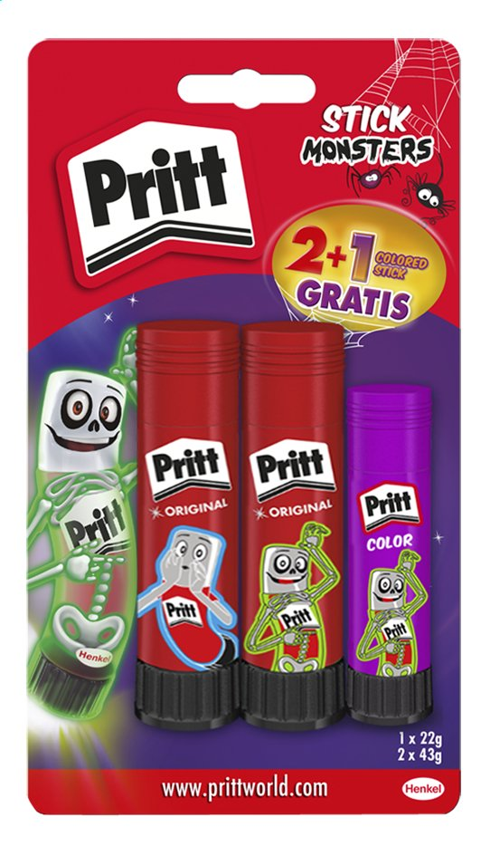 Pritt lijmstift Sticks - 3 stuks