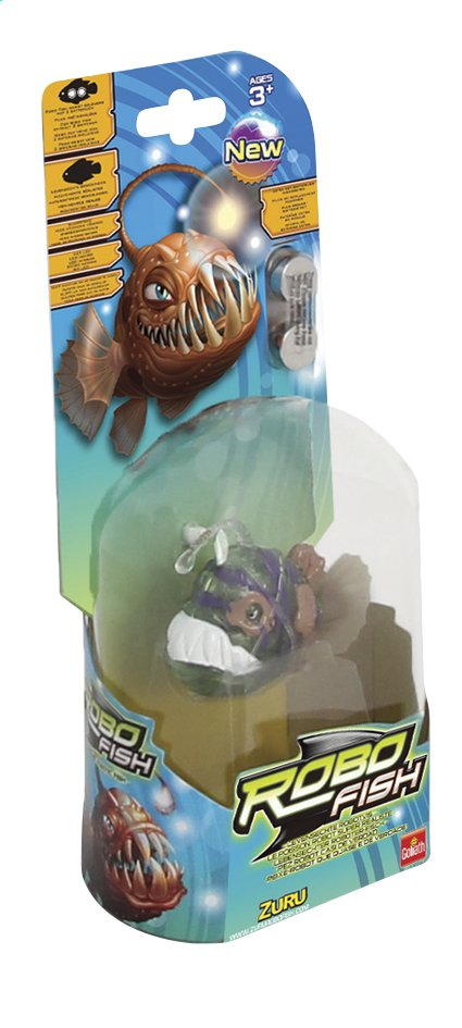 Afbeelding van Goliath Interactieve figuur Robo Fish Deep Sea Angler Green from DreamLand