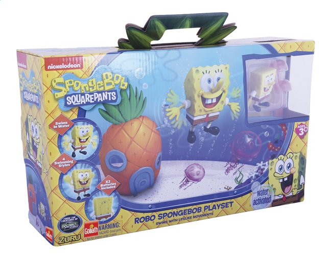 Afbeelding van Goliath speelset Spongebob Squarepants Robo from DreamLand