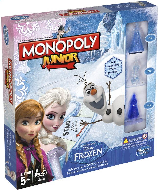 Afbeelding van Monopoly Junior Disney Frozen from DreamLand