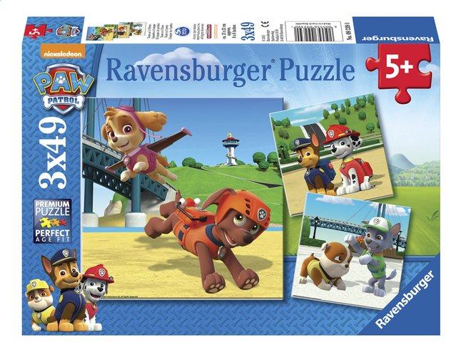 Afbeelding van Ravensburger Puzzel 3-in-1 PAW Patrol Team op 4 poten from DreamLand