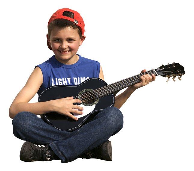 Image pour Guitare classique GP3 noir à partir de DreamLand