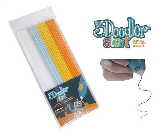 Image pour 3Doodler recharge blanc, vert clair, jaune et orange à partir de DreamLand